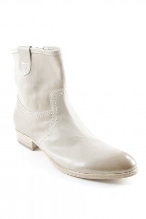 Attilio giusti leombruni Zipper Booties oatmeal street-fashion look