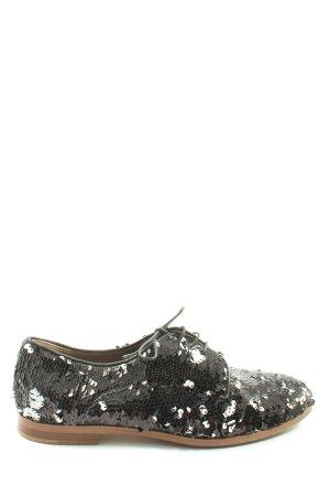 Attilio giusti leombruni Sznurowane buty czarny W stylu casual