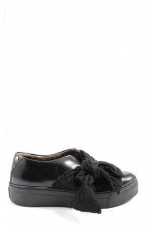 Attilio giusti leombruni Lace-Up Sneaker black casual look
