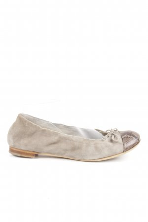 Attilio giusti leombruni Slingback Ballerinas natural white-brown animal pattern