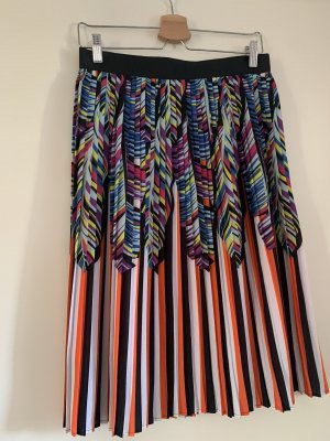Silvian heach Pleated Skirt multicolored