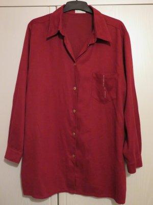 Bonita Giacca a blusa rosso scuro Poliestere