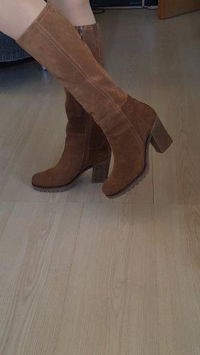 Platform Boots light brown