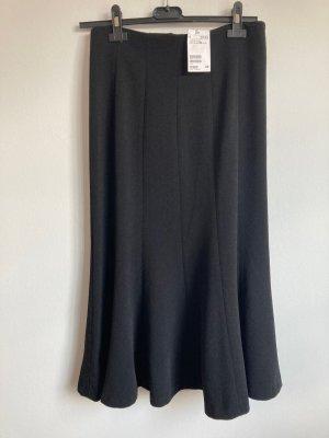 H&M Flared Skirt black polyester