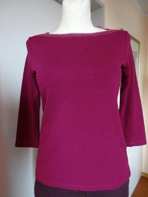 Zero Basic Shirt magenta-violet viscose