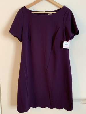 Anne Klein Sheath Dress violet polyester
