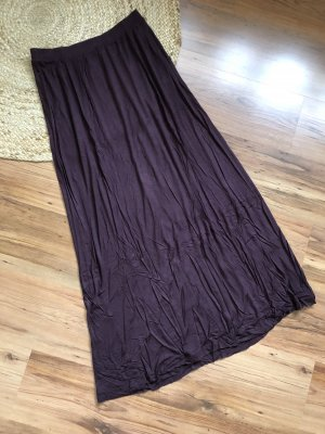 H&M Maxi Skirt brown violet