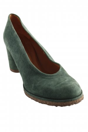 Audley High Heels forest green elegant
