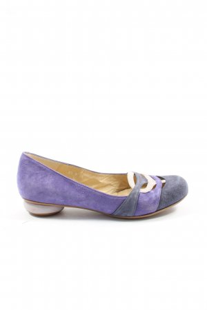 Audley Pumps met hoge zool lila-wolwit casual uitstraling