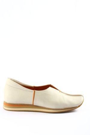Audley Slip-on blanc-vert style décontracté