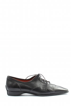 Audley Lace Shoes black casual look