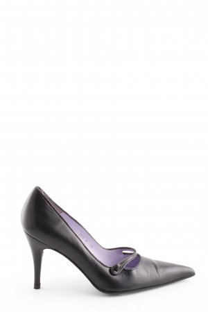 Audley Spitz-Pumps schwarz Business-Look