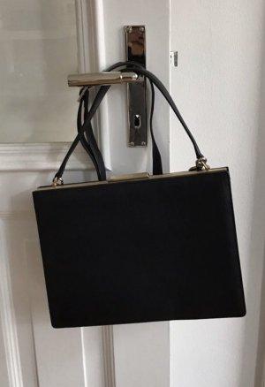 Picard Frame Bag black leather