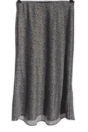 audrey Rozkloszowana spódnica czarny-biały Na całej powierzchni