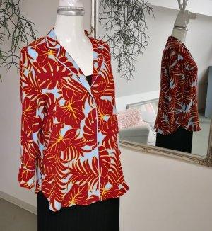 Auffällige Bluse im Pyjama-Style