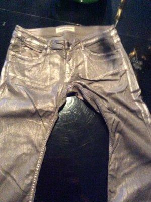 Drykorn Pantalone cinque tasche grigio Cotone