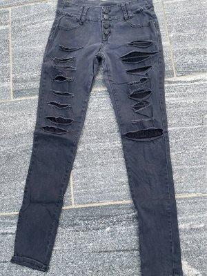 Auffällige Jean