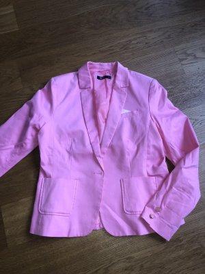 Auffälliger Blazer pink Größe XL