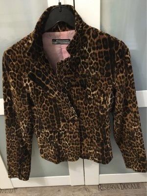 Aufreizend eleganter Blazer in Leopardenmuster