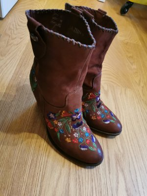 Aufwändig bestickte Boho Boots (Cowboy/ Western)