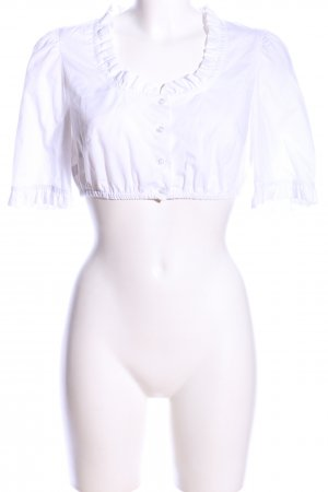 Augenstern Blusa tradizionale bianco stile classico