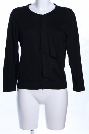 August Silk Knitted Bolero black business style
