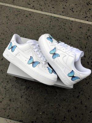 Aur force 1 butterflies custom Schuhe