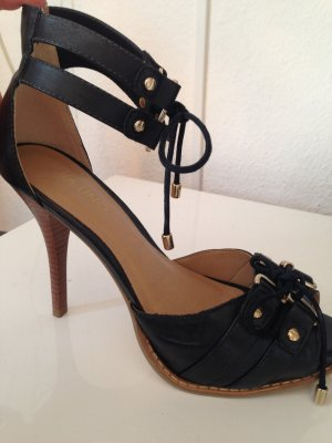ausgefallen High Heels, schwarz, Marke VIA UNO, Größe 39