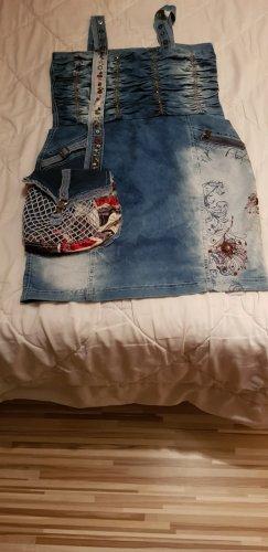 ausgefallen Jeans kleid