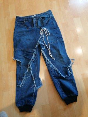 ausgefallene Designer Jeans 36