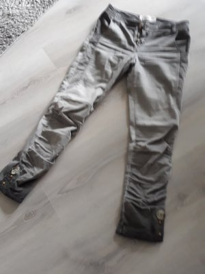 Elisa Cavaletti pantalón de cintura baja gris Algodón
