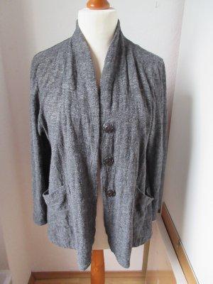 Ausgefallene feine Jacke aus Jersey mit Wolle Designer Label