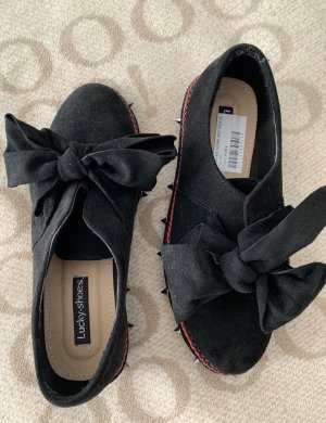 Lucky Shoes Slip-on Shoes black