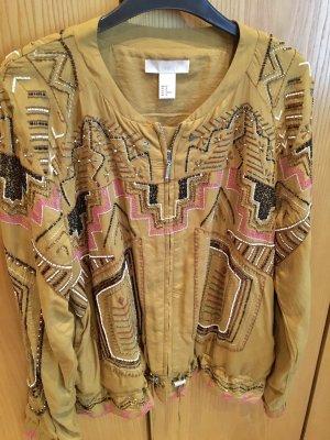 H&M Trend Marynarka koszulowa Wielokolorowy Wiskoza