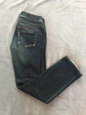 1921 Jeans boyfriend bleu foncé coton