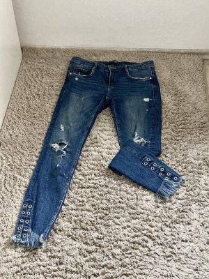 Ausgefallene Jeans mit Details