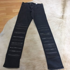 100% Fashion Vaquero skinny gris