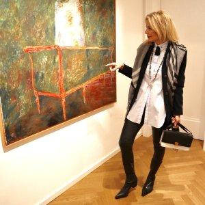 ausgefallene lange Bluse von Dorothee Schumacher