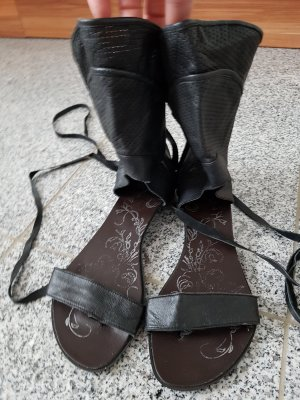 Ausgefallene Leder Sandalen