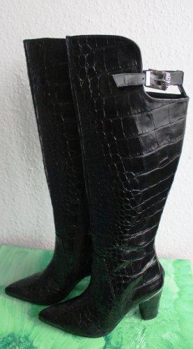 Högl Kniehoge laarzen zwart Leer