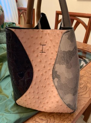 Ausgefallene Ledertasche Made in Italy von Vera Pelle
