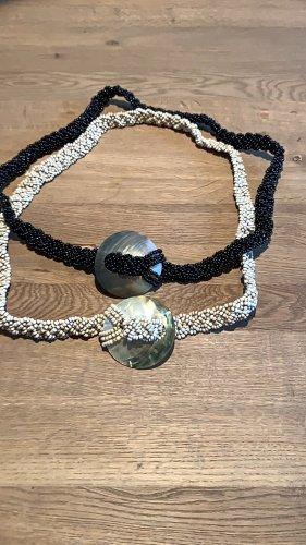 Cinturón pélvico negro-crema