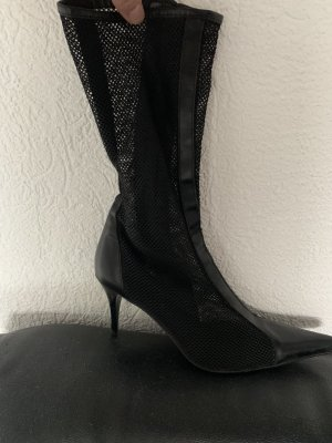 Zara High Heel Boots black
