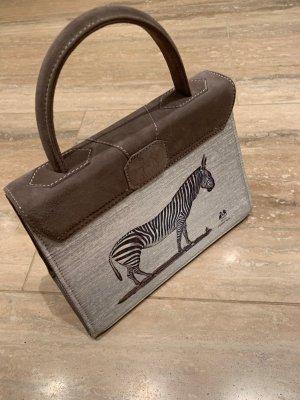 ausgefallene Zebra Tasche von Marquise Paris