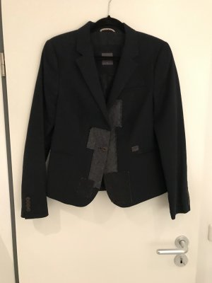 Ausgefallener Blazer mit Patches, Gsus Industries, Gr L
