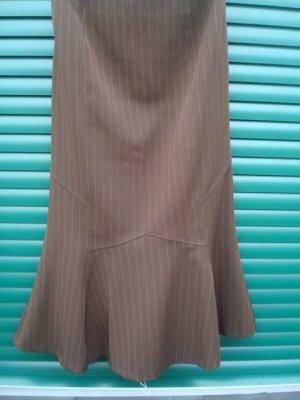 Heine Spódnica w kształcie tulipana brązowy Poliester