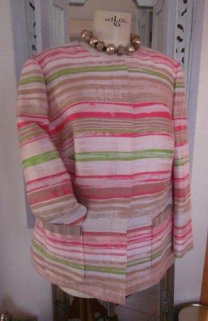Basler Short Blazer green-pink mixture fibre
