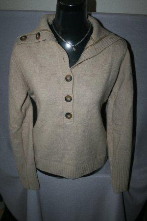 ausgefallener Pullover beige von TCM Gr. 40/42