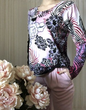 Art Fine Knitted Cardigan multicolored
