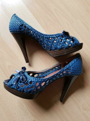 Café Noir High Heels blue